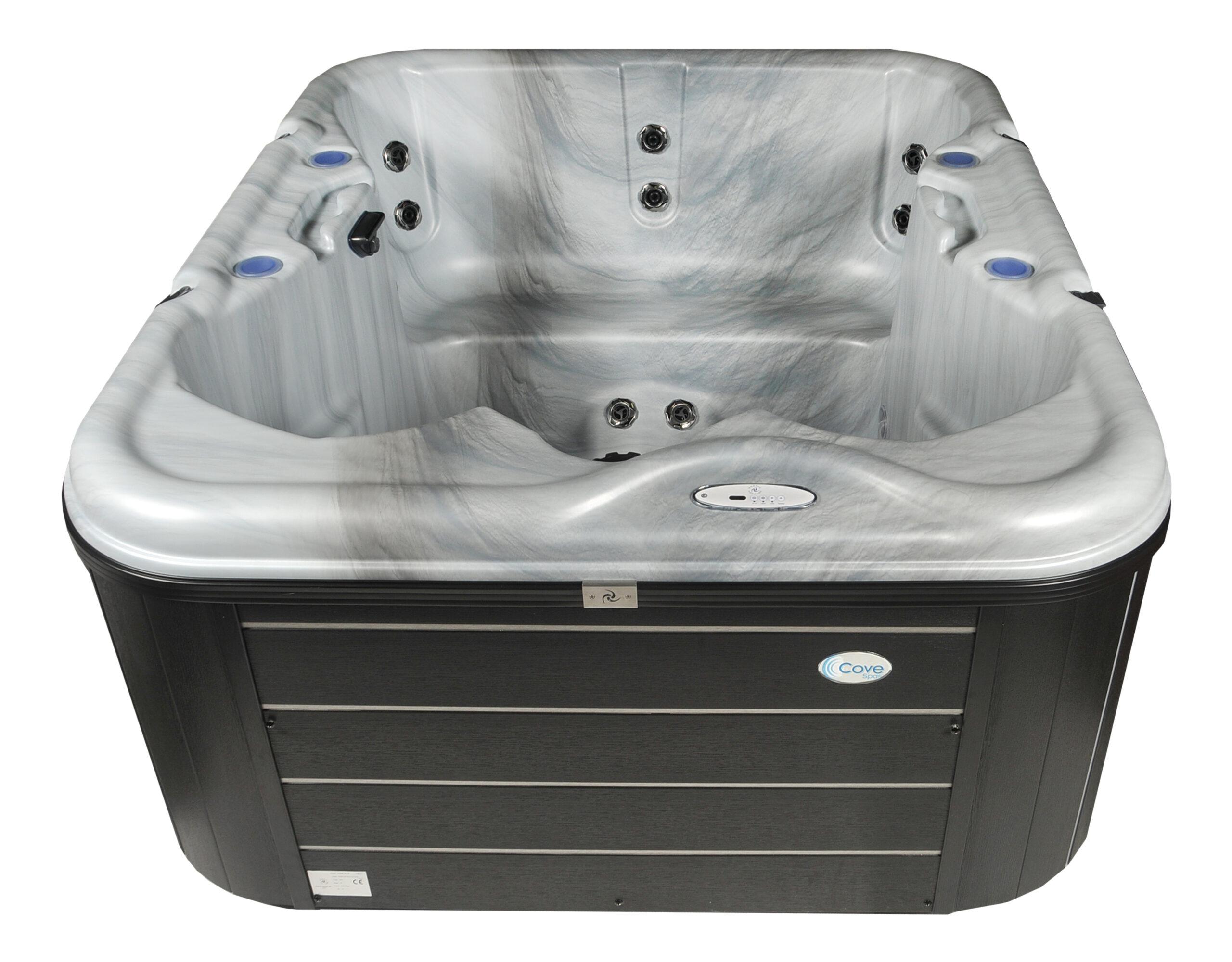Compact hot tub