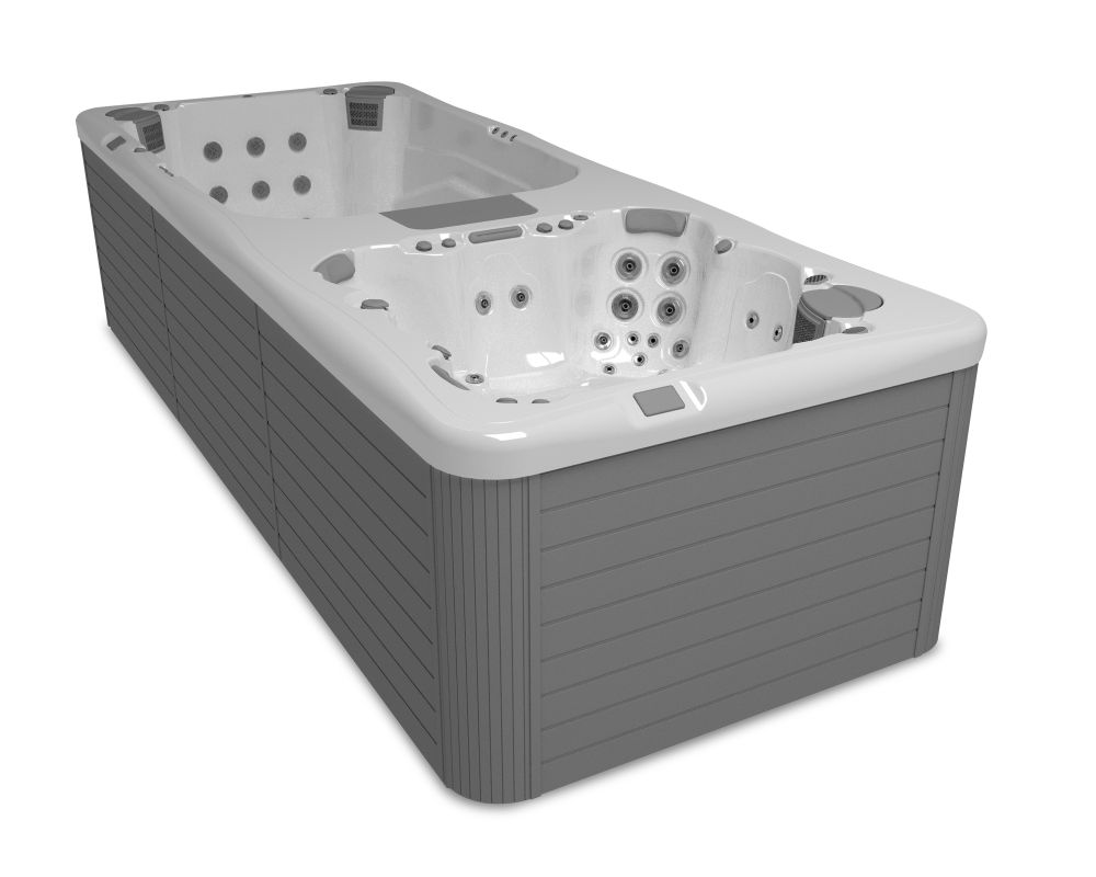 Commercial hot tub