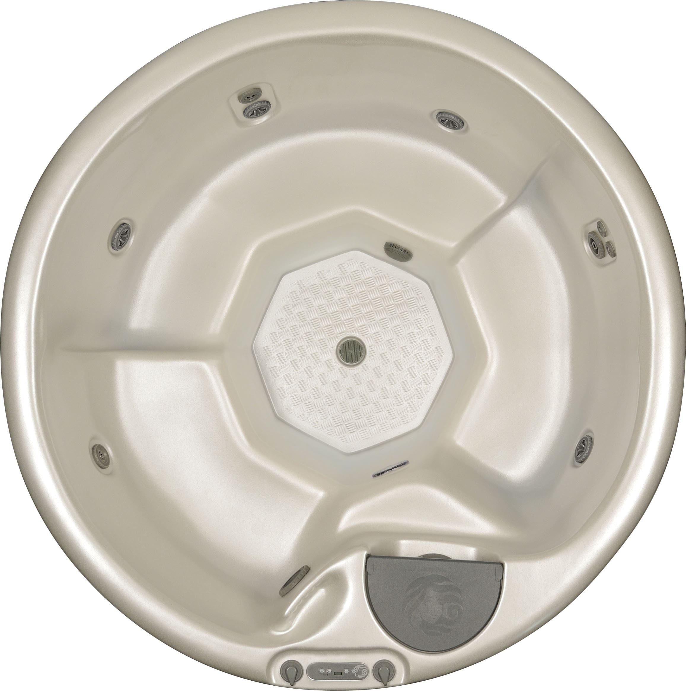 Circular hot tub