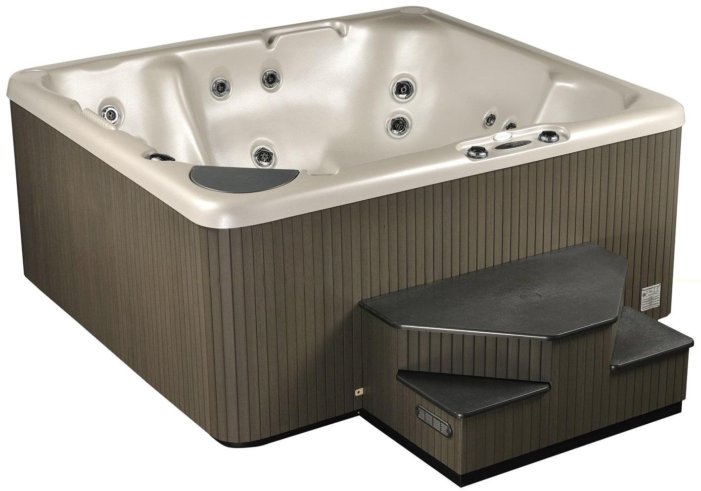 Home hybrid hot tub