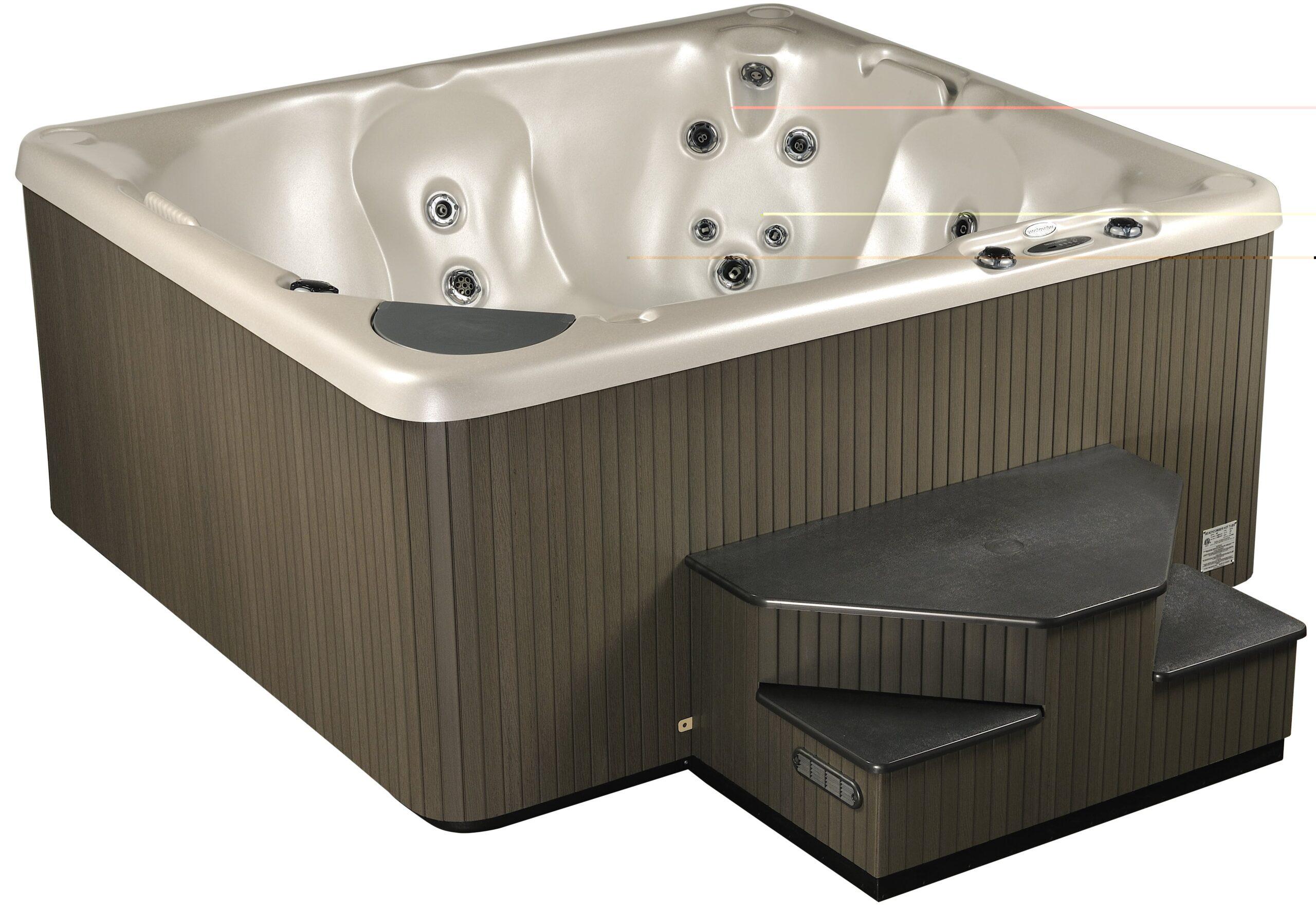 Home hot tub