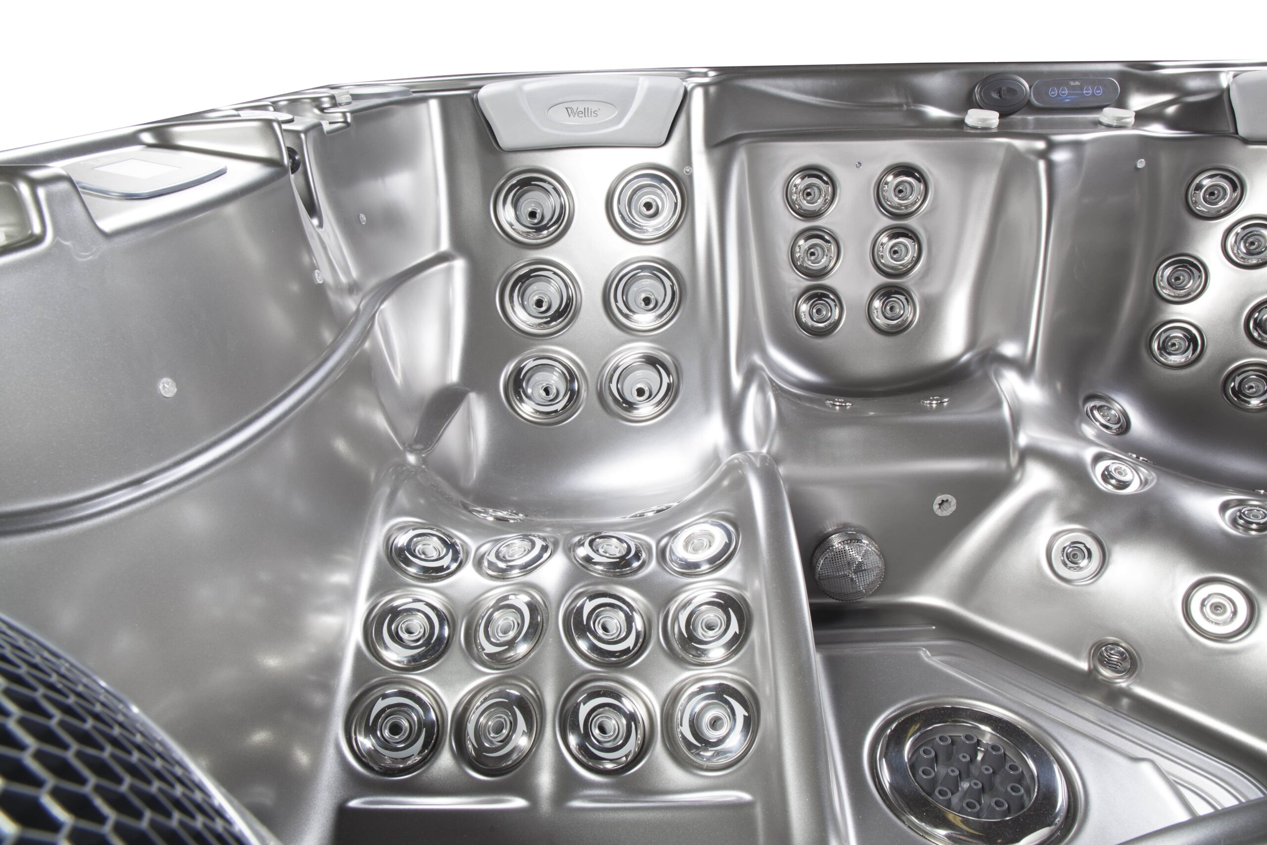 Hydrotherapy hot tub jets for joint pain