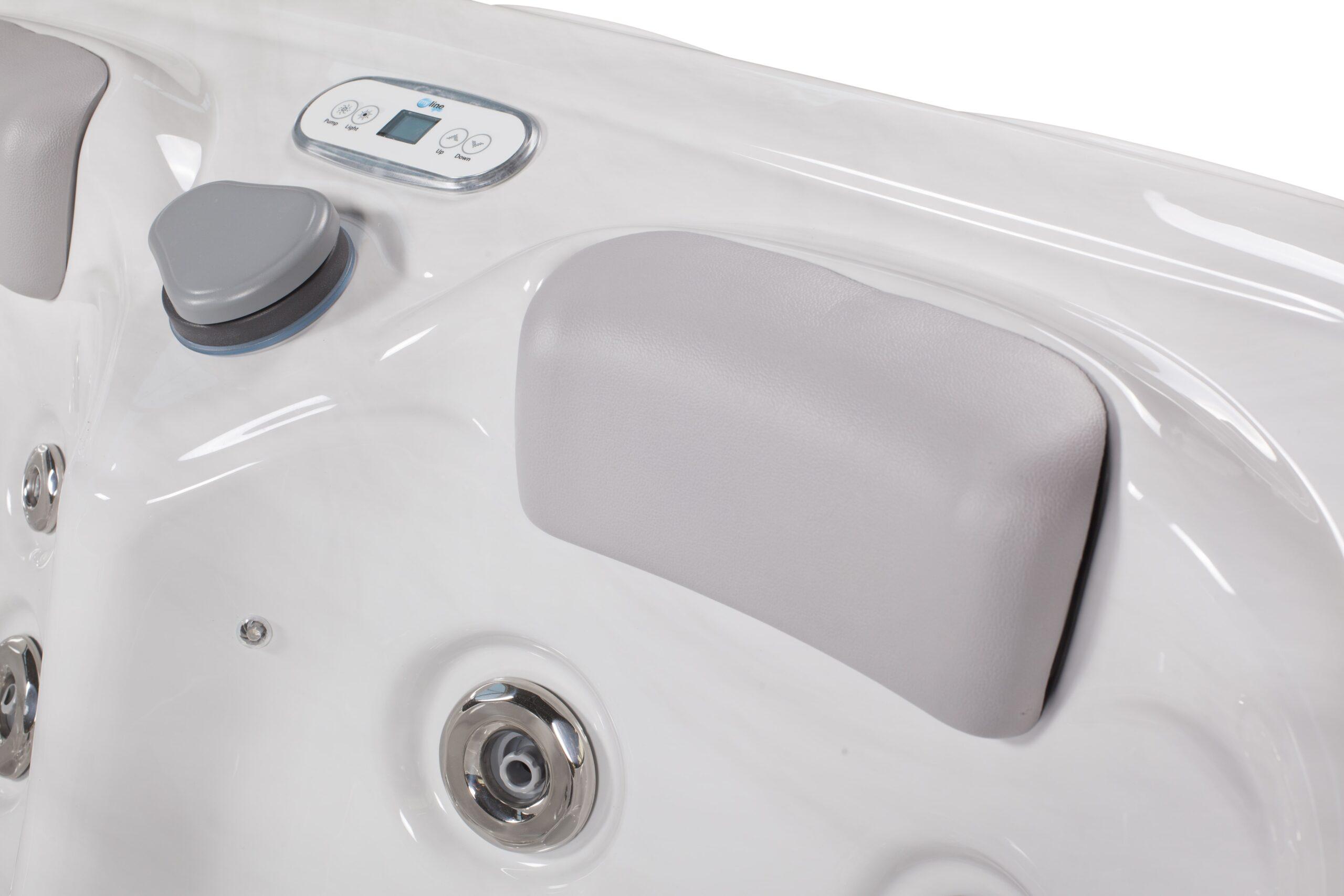 Luxury hot tub seating