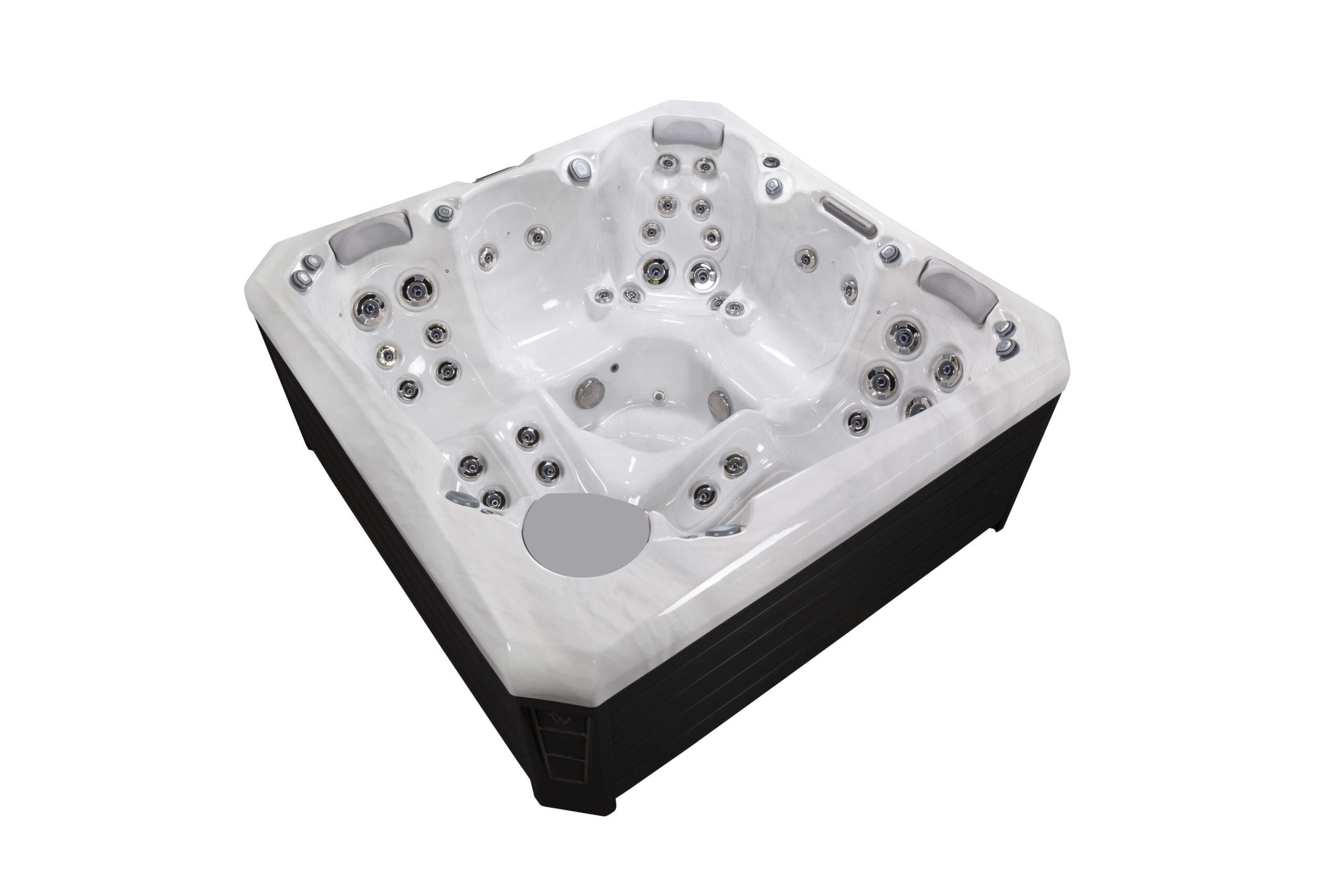 Compact luxury hot tub