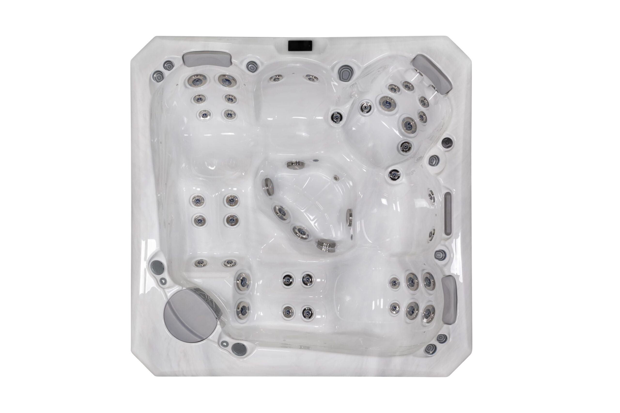 Large luxury hot tub