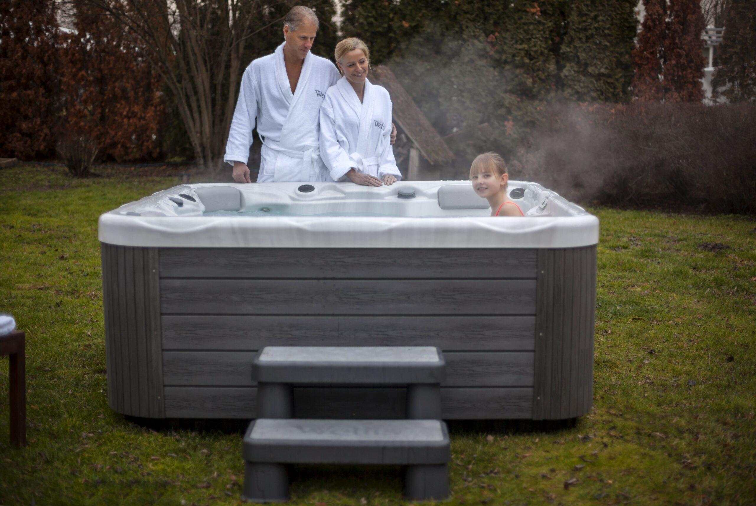 Holiday home hot tub